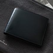 水染めコードバン財布