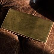 オイルコードバン財布