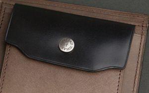 水染めコードヴァン二つ折り財布「YFC131」