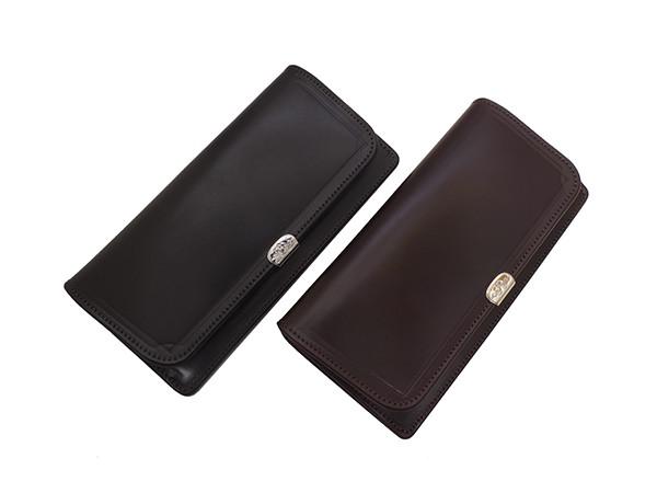 池之端銀革店のコードバン財布