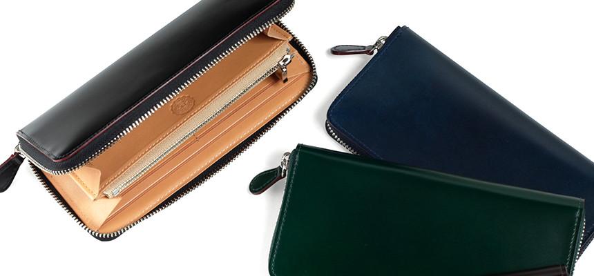 GANZO(ガンゾ)コードバン長財布