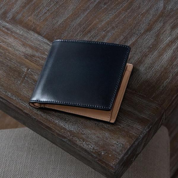 高級感・価値のある二つ折り財布に!